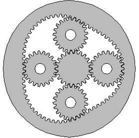 Design Diagram for Non circular Planetary Gears